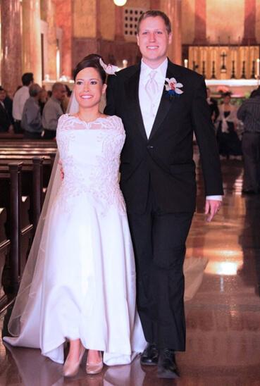 Jessica Cox wedding