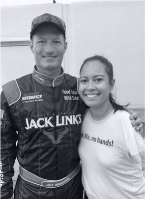 Jessica Cox and Jeff Boerboon