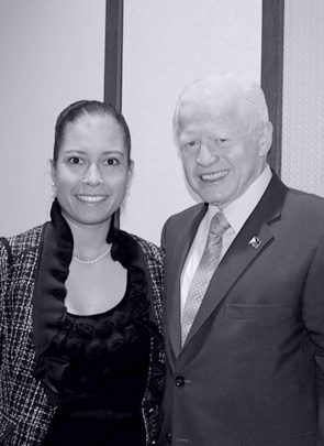 Jessica Cox and Jose Cuisia