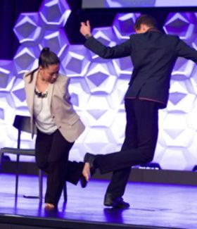 Jessica Cox dancing