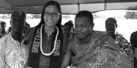 Jessica Cox in Ghana